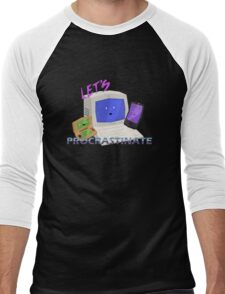 Let's Procrastinate! Men's Baseball ¾ T-Shirt