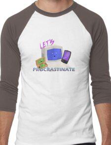 Let's Procrastinate! Men's Baseball ¾ T-Shirt