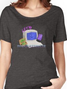 Let's Procrastinate! Women's Relaxed Fit T-Shirt