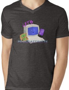 Let's Procrastinate! Mens V-Neck T-Shirt