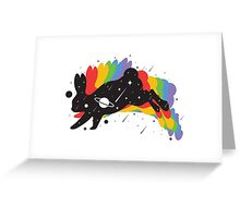 Alien Bunny Greeting Card