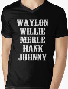 The Original Country Legend Mens V-Neck T-Shirt