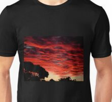Sunset before the storm Unisex T-Shirt