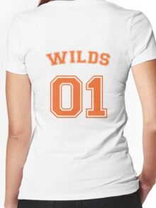 dan wilds #1 offensive dealer Women's Fitted V-Neck T-Shirt