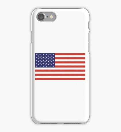 American Flag, Stars & Stripes, Pure & simple, United States of America, USA iPhone Case/Skin