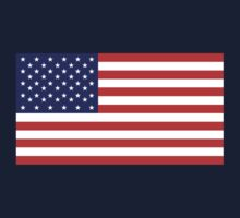 American Flag, Stars & Stripes, Pure & simple, United States of America, USA Baby Tee