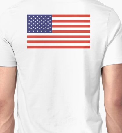 American Flag, Stars & Stripes, Pure & simple, United States of America, USA Unisex T-Shirt