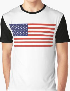 American Flag, Stars & Stripes, Pure & simple, United States of America, USA Graphic T-Shirt