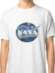 NASA- Van Gogh themed Classic T-Shirt