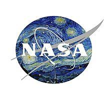 NASA- Van Gogh themed Photographic Print