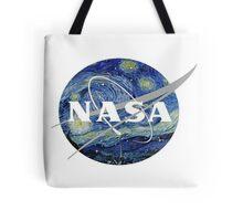 NASA- Van Gogh themed Tote Bag