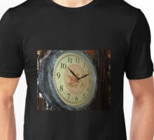 Clock - in Antique Store - Trentham Vic.  Unisex T-Shirt