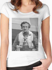 Edgar Allan Poe Dameron Women's Fitted Scoop T-Shirt