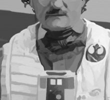 Edgar Allan Poe Dameron Sticker