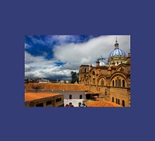 Iconic View Of Cuenca Ecuador Womens Fitted T-Shirt