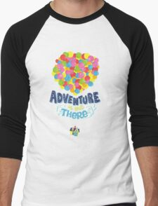 Adventure is out there 3 Men's Baseball ¾ T-Shirt