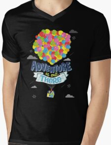 Adventure is out there 3 Mens V-Neck T-Shirt