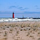 Northeast Winds On Lake Michigan by kkphoto1