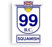 BC 99 - Squamish Canvas Print