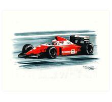 1993 Ferrari F93A Art Print