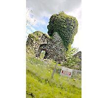 Ruins, Clonbur Photographic Print