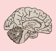 hemisected brain One Piece - Long Sleeve