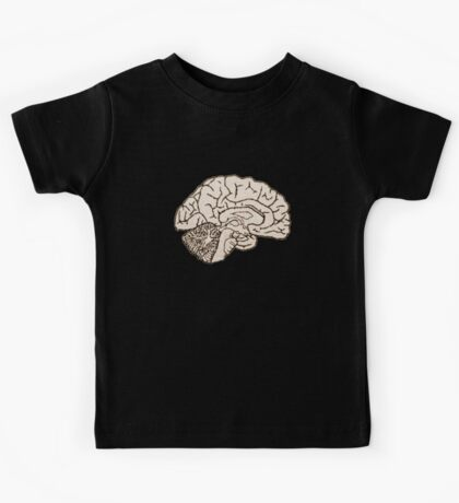 hemisected brain Kids Tee