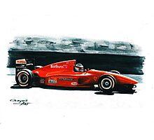 1994  Ferrari 412T1 Photographic Print
