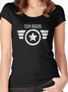 Team Rogers - Civil War Women's Fitted Scoop T-Shirt