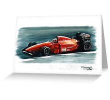1994 Ferrari 412T1B Greeting Card