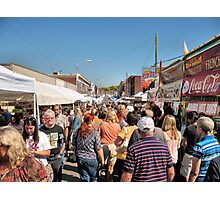"""Unicoi County Apple Festival, Erwin, Tennessee""... prints and products Photographic Print"