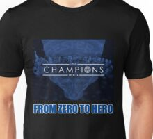 LEICESTER CITY FROM ZERO TO HERO CHAMPIONS 2015-2016 Unisex T-Shirt