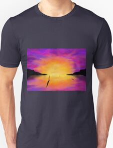 Yachts at Harbour T-Shirt