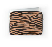 0567 Raw Sienna Tiger Laptop Sleeve