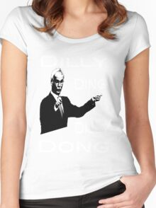 The Tinkerman says Dilly Ding Dilly Dong Women's Fitted Scoop T-Shirt