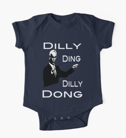 The Tinkerman says Dilly Ding Dilly Dong One Piece - Short Sleeve