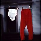 Red Pants by Wayne King