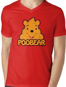 Poobear Mens V-Neck T-Shirt