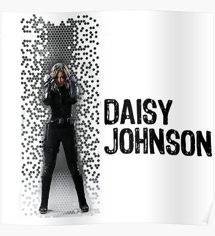 Digital Pixels Daisy Johnson AKA Quake Poster