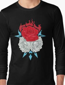 Ice Flowers Long Sleeve T-Shirt