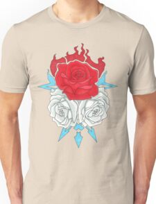 Ice Flowers Unisex T-Shirt