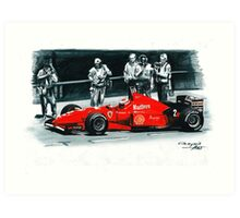 1996  Ferrari F310 Art Print