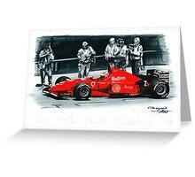 1996  Ferrari F310 Greeting Card