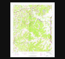 USGS TOPO Map Alabama AL Isbell 304273 1945 24000 Unisex T-Shirt