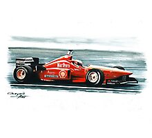 1996  Ferrari F310 Photographic Print