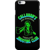 Callahan's Shooting Club Colour iPhone Case/Skin