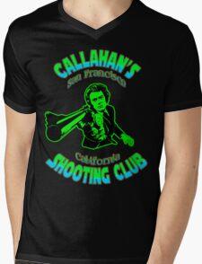 Callahan's Shooting Club Colour Mens V-Neck T-Shirt