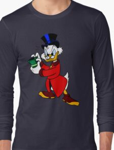 Scrooge McDuck Full Long Sleeve T-Shirt