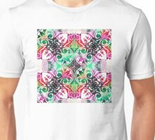 Bright Colorful Pattern Art - Color Fusion Design 10 By Sharon Cummings Unisex T-Shirt