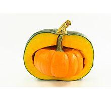 Pumpkin stuffed, Thanksgiving, Halloween Photographic Print